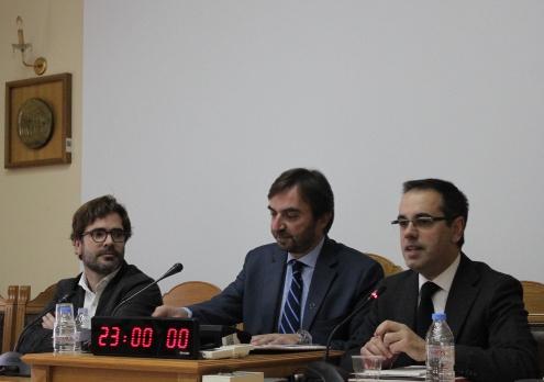 El secretari d'Habitatge, Carles Sala. presidint el tercer comitè de Direcció de SHERPA a Heraklion, Creta
