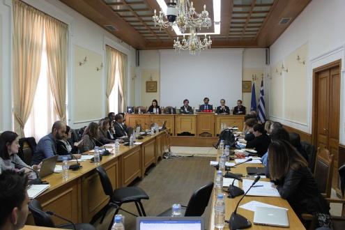 Tercer comitè de Direcció de SHERPA a Heraklion, Creta